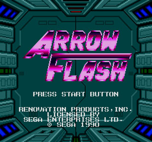 Arrow Flash or Flashing Arrow? Who cares right?
