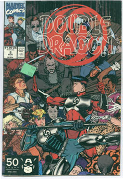 Double Dragon from Marvel Comics