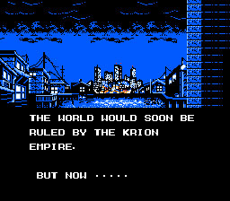 The Krion Empire, huh? I wonder if Dr. Wily is involved somehow?