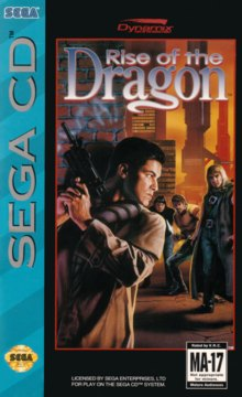 Rise of the Dragon Cover Front