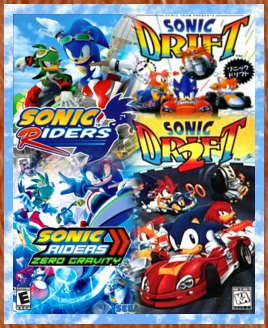 Personally, I don't like any of the Sonic racing games too much...